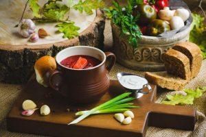 Заведения с украинской национальной кухней